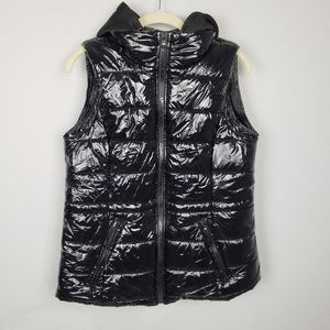 Michael Michael Kors black puffer vest S